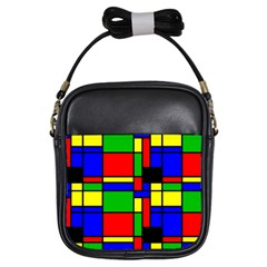 Mondrian Girl s Sling Bag