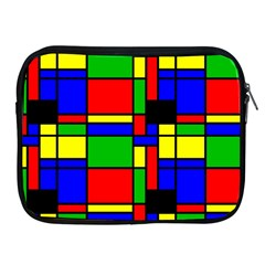 Mondrian Apple Ipad Zippered Sleeve by Siebenhuehner