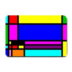 Mondrian Small Door Mat by Siebenhuehner