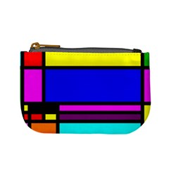 Mondrian Coin Change Purse by Siebenhuehner