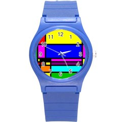 Mondrian Plastic Sport Watch (small) by Siebenhuehner