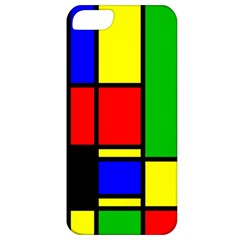 Mondrian Apple Iphone 5 Classic Hardshell Case by Siebenhuehner