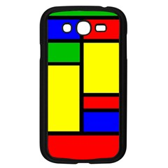 Mondrian Samsung Galaxy Grand Duos I9082 Case (black) by Siebenhuehner