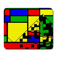 Moderne Large Mouse Pad (rectangle) by Siebenhuehner