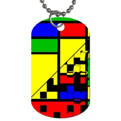Moderne Dog Tag (two Sided)  by Siebenhuehner