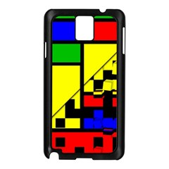 Moderne Samsung Galaxy Note 3 N9005 Case (black) by Siebenhuehner