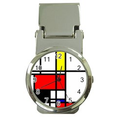 Mondrian Money Clip With Watch by Siebenhuehner