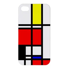 Mondrian Apple Iphone 4/4s Hardshell Case by Siebenhuehner
