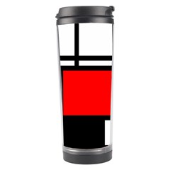 Mondrian Travel Tumbler by Siebenhuehner