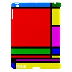 Mondrian Apple Ipad 3/4 Hardshell Case (compatible With Smart Cover) by Siebenhuehner