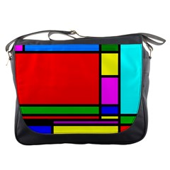 Mondrian Messenger Bag by Siebenhuehner