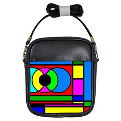 Mondrian Girl s Sling Bag by Siebenhuehner