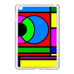 Mondrian Apple Ipad Mini Case (white) by Siebenhuehner