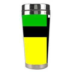 Abstrakt Stainless Steel Travel Tumbler by Siebenhuehner