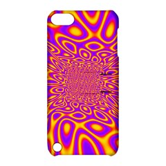 Psycedelic Warp Apple Ipod Touch 5 Hardshell Case With Stand