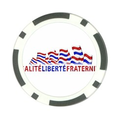 Bastille Day Poker Chip by dflcprints