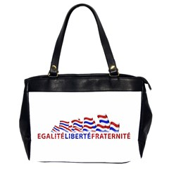 Bastille Day Oversize Office Handbag (two Sides) by dflcprints