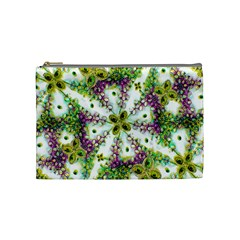 Neo Noveau Style Background Pattern Cosmetic Bag (medium) by dflcprints