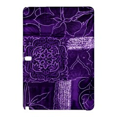 Pretty Purple Patchwork Samsung Galaxy Tab Pro 10 1 Hardshell Case by FunWithFibro