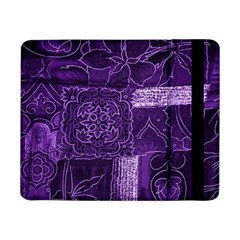Pretty Purple Patchwork Samsung Galaxy Tab Pro 8 4  Flip Case by FunWithFibro