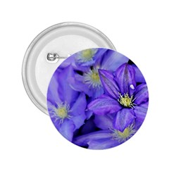 Purple Wildflowers For Fms 2 25  Button by FunWithFibro
