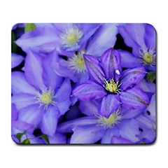 Purple Wildflowers For Fms Large Mouse Pad (rectangle) by FunWithFibro