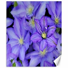 Purple Wildflowers For Fms Canvas 8  X 10  (unframed) by FunWithFibro