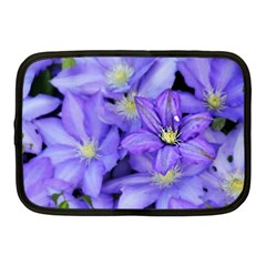 Purple Wildflowers For Fms Netbook Sleeve (medium)