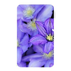 Purple Wildflowers For Fms Memory Card Reader (rectangular) by FunWithFibro