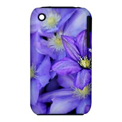 Purple Wildflowers For Fms Apple Iphone 3g/3gs Hardshell Case (pc+silicone) by FunWithFibro