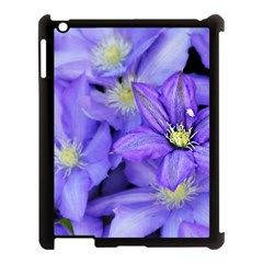 Purple Wildflowers For Fms Apple Ipad 3/4 Case (black) by FunWithFibro