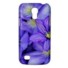 Purple Wildflowers For Fms Samsung Galaxy S4 Mini (gt I9190) Hardshell Case  by FunWithFibro