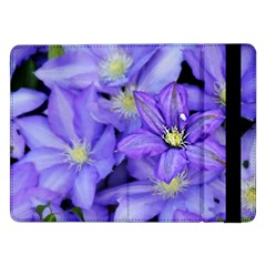 Purple Wildflowers For Fms Samsung Galaxy Tab Pro 12 2  Flip Case by FunWithFibro