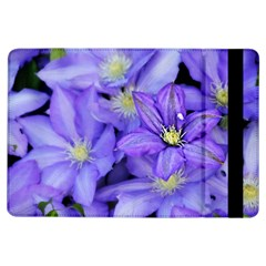 Purple Wildflowers For Fms Apple Ipad Air Flip Case by FunWithFibro