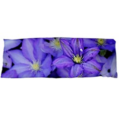 Purple Wildflowers For Fms Body Pillow (dakimakura) Case (two Sides) by FunWithFibro