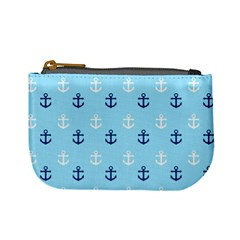 Anchors In Blue And White Coin Change Purse by StuffOrSomething