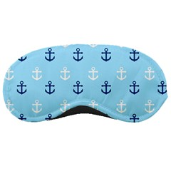 Anchors In Blue And White Sleeping Mask by StuffOrSomething