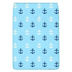 Anchors In Blue And White Removable Flap Cover (large) by StuffOrSomething