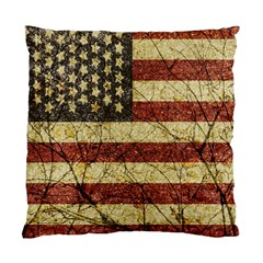 Vinatge American Roots Cushion Case (single Sided)  by dflcprints