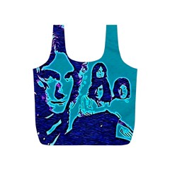 Led Zeppelin Digital Painting Reusable Bag (s) by SaraThePixelPixie