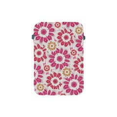 Feminine Flowers Pattern Apple Ipad Mini Protective Sleeve by dflcprints