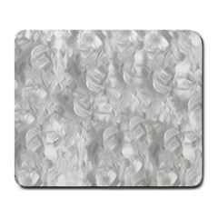 Abstract In Silver Large Mouse Pad (rectangle) by StuffOrSomething