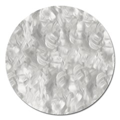 Abstract In Silver Magnet 5  (round) by StuffOrSomething