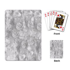 Abstract In Silver Playing Cards Single Design