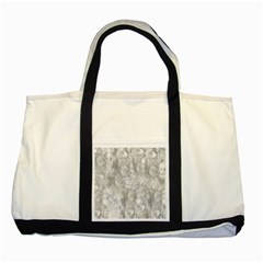 Abstract In Silver Two Toned Tote Bag by StuffOrSomething