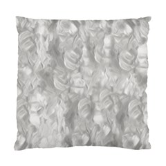 Abstract In Silver Cushion Case (single Sided)  by StuffOrSomething
