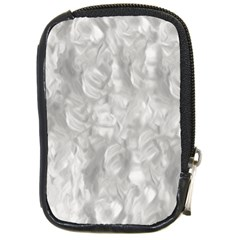 Abstract In Silver Compact Camera Leather Case by StuffOrSomething