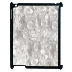 Abstract In Silver Apple Ipad 2 Case (black) by StuffOrSomething