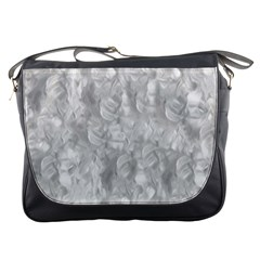 Abstract In Silver Messenger Bag by StuffOrSomething