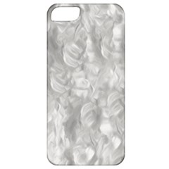 Abstract In Silver Apple Iphone 5 Classic Hardshell Case by StuffOrSomething